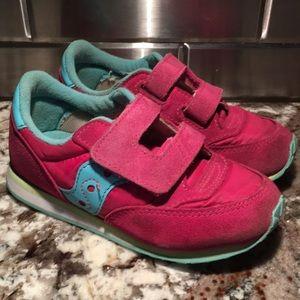 Girls Saucony Baby Jazz Sneakers